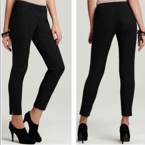 THEORY   sz 0 black Belisa 2 bistretch crop pants